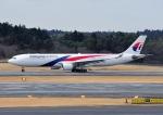 じーく。さんが、成田国際空港で撮影したマレーシア航空 A330-323Xの航空フォト(飛行機 写真・画像)