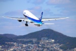 Kuuさんが、伊丹空港で撮影した全日空 777-281の航空フォト(飛行機 写真・画像)