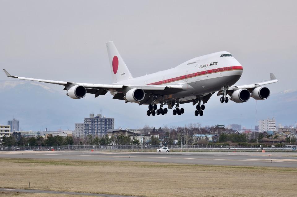 Dojalanaさんの航空自衛隊 Boeing 747-400 (20-1102) 航空フォト