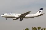 かみゅんずさんが、メヘラーバード国際空港で撮影したイラン航空 A300B2-203の航空フォト(写真)
