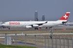 JA8961RJOOさんが、成田国際空港で撮影したスイスインターナショナルエアラインズ A340-313Xの航空フォト(写真)