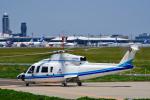 パンダさんが、成田国際空港で撮影したエクセル航空 S-76A+の航空フォト(写真)