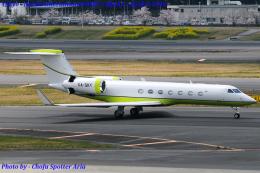 Chofu Spotter Ariaさんが、成田国際空港で撮影したメキシコ企業所有 G-V-SP Gulfstream G500の航空フォト(飛行機 写真・画像)