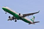 Dojalanaさんが、函館空港で撮影したエバー航空 A321-211の航空フォト(飛行機 写真・画像)
