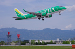 サボリーマンさんが、高知空港で撮影したフジドリームエアラインズ ERJ-170-100 SU (ERJ-170SU)の航空フォト(飛行機 写真・画像)