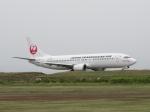 aquaさんが、小松空港で撮影した日本トランスオーシャン航空 737-446の航空フォト(写真)