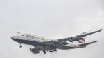 nahatsuki1415さんが、ロンドン・ヒースロー空港で撮影したブリティッシュ・エアウェイズ 747-436の航空フォト(写真)