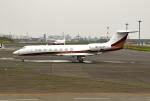 tsubasa0624さんが、羽田空港で撮影したエグゼクジェットUK G500/G550 (G-V)の航空フォト(写真)