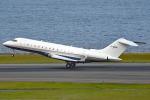 tsubasa0624さんが、羽田空港で撮影したフランス企業所有 BD-700 Global Express/5000/6000の航空フォト(写真)
