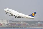 tsubasa0624さんが、羽田空港で撮影したルフトハンザドイツ航空 747-830の航空フォト(飛行機 写真・画像)