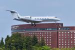 パンダさんが、成田国際空港で撮影したAIR LAKE LINES INC G-IVの航空フォト(飛行機 写真・画像)