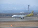 鬼の手さんが、新千歳空港で撮影したバニラエア A320-214の航空フォト(写真)