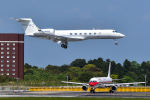 パンダさんが、成田国際空港で撮影したウェルズ・ファーゴ・バンク・ノースウェスト C-37B Gulfstream G550 (G-V-SP)の航空フォト(写真)