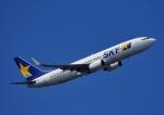 じーく。さんが、羽田空港で撮影したスカイマーク 737-8FZの航空フォト(飛行機 写真・画像)