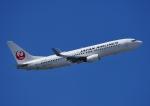じーく。さんが、羽田空港で撮影した日本航空 737-846の航空フォト(飛行機 写真・画像)