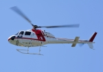 じーく。さんが、東京ヘリポートで撮影した朝日航洋 AS355F1 Ecureuil 2の航空フォト(飛行機 写真・画像)