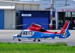 じーく。さんが、東京ヘリポートで撮影した川崎市消防航空隊 AS365N3 Dauphin 2の航空フォト(飛行機 写真・画像)