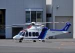 じーく。さんが、東京ヘリポートで撮影したオールニッポンヘリコプター AW139の航空フォト(写真)