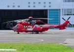 じーく。さんが、東京ヘリポートで撮影した東京消防庁航空隊 EC225LP Super Puma Mk2+の航空フォト(飛行機 写真・画像)
