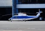 じーく。さんが、東京ヘリポートで撮影したファーストエアートランスポート S-76C++の航空フォト(飛行機 写真・画像)