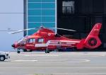 じーく。さんが、東京ヘリポートで撮影した東京消防庁航空隊 AS365N2 Dauphin 2の航空フォト(飛行機 写真・画像)