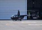 じーく。さんが、東京ヘリポートで撮影した日本フライトセーフティ R44 Raven IIの航空フォト(飛行機 写真・画像)