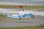 山河 彩さんが、関西国際空港で撮影した海上保安庁 S-76Dの航空フォト(写真)