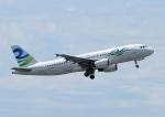 じーく。さんが、成田国際空港で撮影したスカイ・アンコール・エアラインズ A320-214の航空フォト(飛行機 写真・画像)