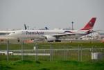 mojioさんが、成田国際空港で撮影したトランスアジア航空 A330-343Xの航空フォト(飛行機 写真・画像)
