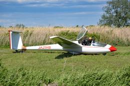 tsubasa0624さんが、羽生滑空場で撮影したエアロビジョン ASK 21の航空フォト(飛行機 写真・画像)