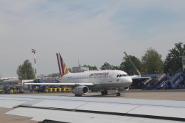 みそらさんが、ザグレブ空港で撮影したジャーマンウィングス A319-132の航空フォト(飛行機 写真・画像)