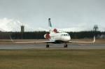 北の熊さんが、新千歳空港で撮影したアルジー・エクスプレスの航空フォト(写真)