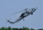 じーく。さんが、厚木飛行場で撮影したアメリカ海軍 SH-60R Strikehawk (S-70B-4)の航空フォト(飛行機 写真・画像)