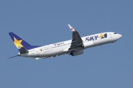 SKYLINEさんが、羽田空港で撮影したスカイマーク 737-8HXの航空フォト(写真)