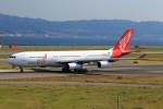 T.Sazenさんが、関西国際空港で撮影したエア・レジャー A340-212の航空フォト(飛行機 写真・画像)
