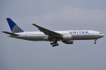 tsubasa0624さんが、成田国際空港で撮影したユナイテッド航空 777-222/ERの航空フォト(写真)