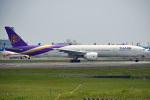 tsubasa0624さんが、成田国際空港で撮影したタイ国際航空 777-3AL/ERの航空フォト(飛行機 写真・画像)