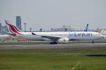 tsubasa0624さんが、成田国際空港で撮影したスリランカ航空 A330-343Eの航空フォト(飛行機 写真・画像)