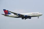 tsubasa0624さんが、成田国際空港で撮影したデルタ航空 747-451の航空フォト(写真)
