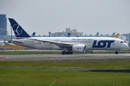 tsubasa0624さんが、成田国際空港で撮影したLOTポーランド航空 787-8 Dreamlinerの航空フォト(飛行機 写真・画像)