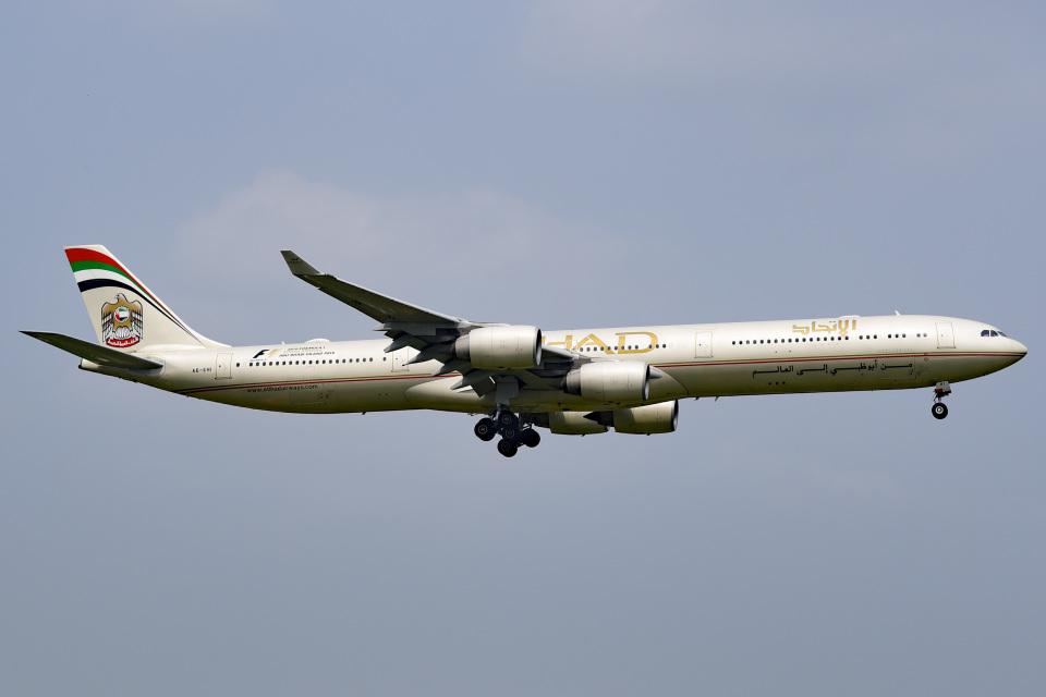 tsubasa0624さんのエティハド航空 Airbus A340-600 (A6-EHI) 航空フォト
