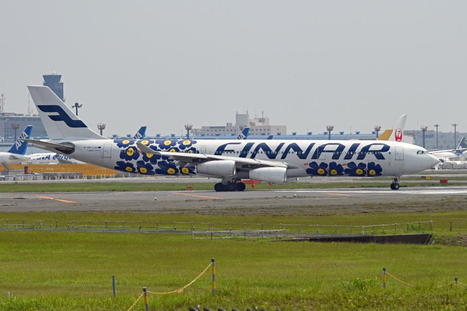 tsubasa0624さんのフィンエアー Airbus A340-300 (OH-LQD) 航空フォト