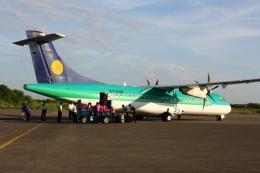 scene_Bさんが、ニャウンウー空港で撮影したミャンマー・ナショナル・エアウェイズ ATR-72-500 (ATR-72-212A)の航空フォト(飛行機 写真・画像)