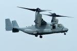 うめやしきさんが、厚木飛行場で撮影したアメリカ海兵隊 MV-22Bの航空フォト(写真)