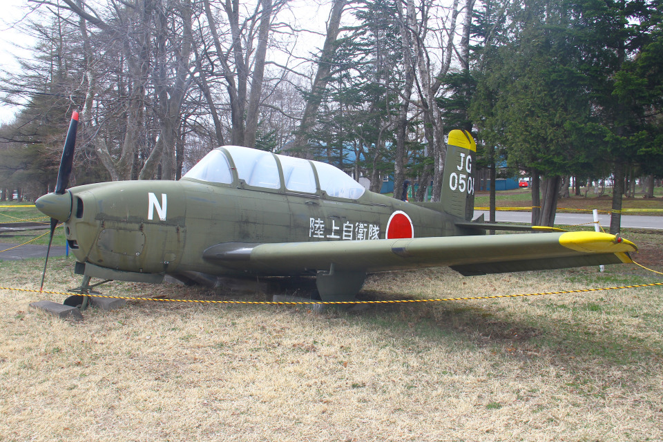 りんたろうさんの陸上自衛隊 Fuji T-34 (60501) 航空フォト
