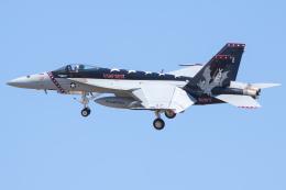 Ryan-airさんが、ヴェンチュラ・カウンティ=ポイントムグ海軍航空ステーションで撮影したアメリカ海軍 F/A-18E Super Hornetの航空フォト(飛行機 写真・画像)