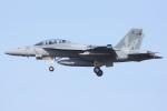 Ryan-airさんが、ヴェンチュラ・カウンティ=ポイントムグ海軍航空ステーションで撮影したアメリカ海軍 F/A-18F Super Hornetの航空フォト(写真)
