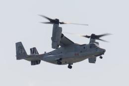 カヤノユウイチさんが、岩国空港で撮影したアメリカ海兵隊 MV-22Bの航空フォト(写真)