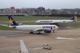 masa707さんが、福岡空港で撮影したスカイマーク A330-343Xの航空フォト(飛行機 写真・画像)