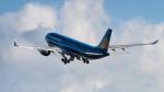 tsuna72さんが、福岡空港で撮影したベトナム航空 A330-223の航空フォト(飛行機 写真・画像)